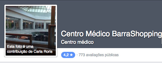 Facebook Centro Médico Barra Shopping